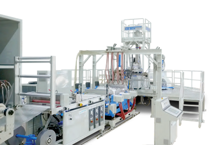 3-5 Layers Co-Ex Chill Roll Line